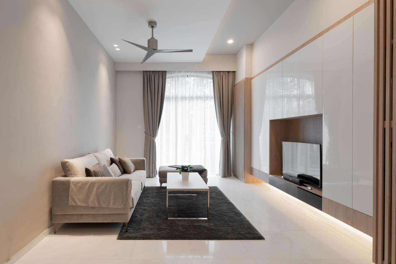Modern Bungalow house Interior Design Singapore